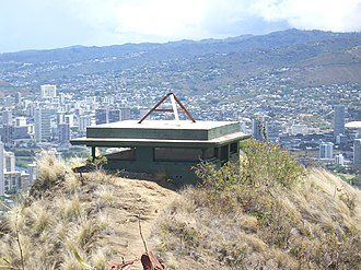 Fort Ruger - Image: Diamond Head Bunker