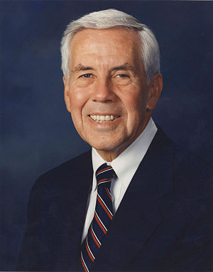 United States Senate election in Indiana, 1994 - Image: Dick Lugar official photo