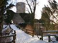 Die Burgruine Hohennagold über Nagold im Nordschwarzwald - ein Kulturdenkmal im Lichtspiel der Natur 3 Nahsicht.JPG