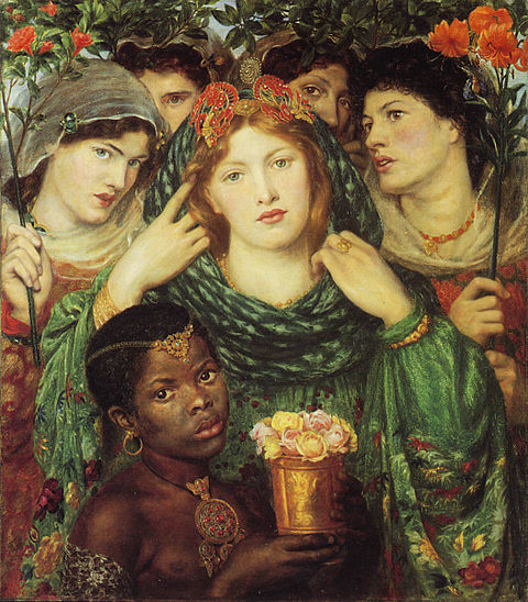 """The Beloved"", olio di Dante Gabriel Rossetti, 1866"
