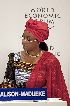Diezani Alison-Madueke - Diezani Alison-Madueke at the World Economic Forum on Africa in 2012
