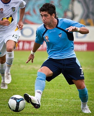 Dimitri Petratos - Petratos with Sydney FC Youth in 2009