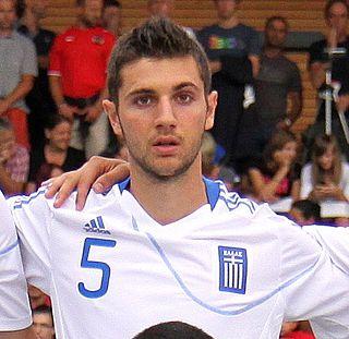 Dimitris Stamou Greek footballer