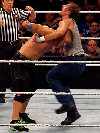 DDT (professional wrestling) - Ambrose performing the Dirty Deeds on John Cena