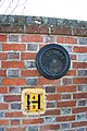 Disc on the wall - geograph.org.uk - 1671118.jpg