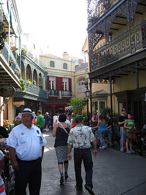 New Orleans Square - Image: Disneyland New Orleans Square 01