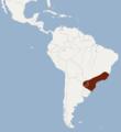 Distribution of Euryzygomatomys spinosus.png
