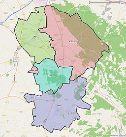 bjuvs kommun karta Ekeby distrikt, Skåne – Wikipedia bjuvs kommun karta
