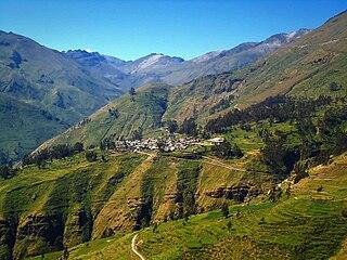 Cordillera Central (Peru) part of the Andes in Peru