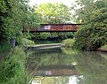 Disused railway bridge over the Grand Union Canal near Bascote - geograph.org.uk - 1343664.jpg