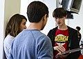 Domo arigato, Mr. Roboto, students succeed with robotics 150930-F-XD389-022.jpg