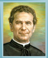 Hey, thats St John Bosco!