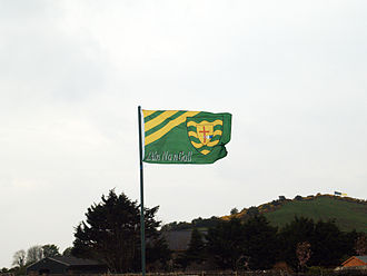 Donegal GAA - The Donegal flag displayed on the day the county won the National Football League for the first time in 2007