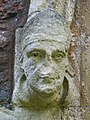 Door carving at St Katherines - geograph.org.uk - 1440270.jpg
