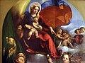 Dosso dossi, madonna col bambino tra i ss. giorgio e michele, 1518-19, 02.jpg