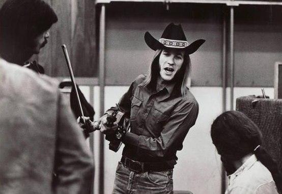 Doug Sahm - Atlantic Records Publicity Portrait 1973(derivate)