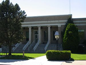 Douglas County, Nevada - Image: Douglas County Courthouse, Minden, Nevada