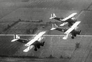 Douglas O-38s Ohio ANG in flight 1936