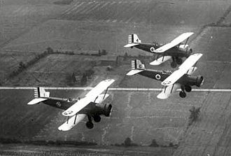Ohio Air National Guard - Ohio National Guard Douglas O-38s in flight, 1936