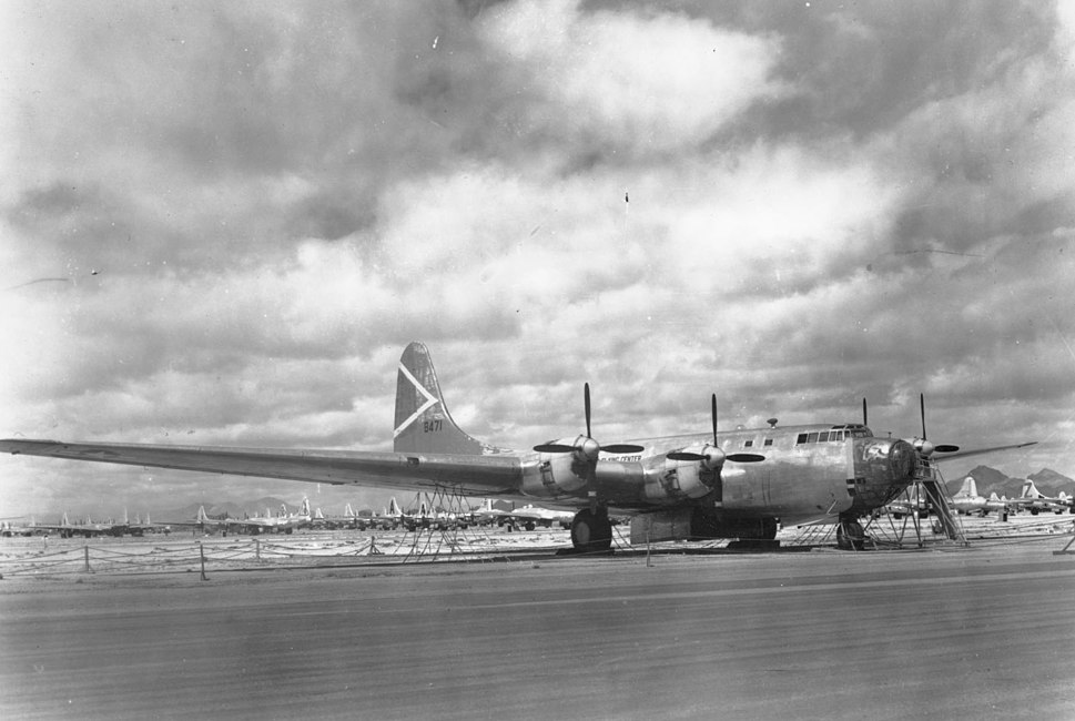 Douglas XB-19 before scrapping
