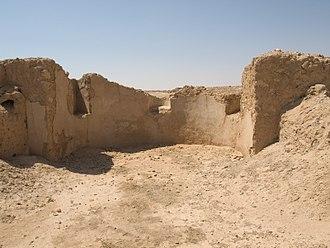 Siege of Dura-Europos (256) - Image: Doura Europos Dux ripae palace 1