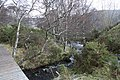 Downstream view of the Allt na Criche from the footbridge - geograph.org.uk - 775168.jpg