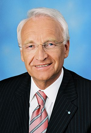 Edmund Stoiber - Official portrait of Dr. Edmund Stoiber