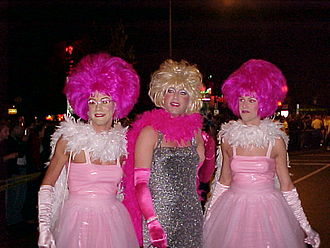 Drag (clothing) - Participants of the High Heel Drag Race in Washington, D.C.