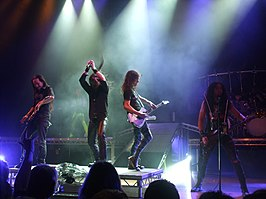 DragonForce live in Victoria Hall, Hanley 2009