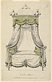 Drawing, Design for a Bed in Roman Style, 1780 (CH 18171243-2).jpg