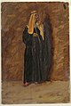 Drawing, Study of a standing bedouin, 1868 (CH 18201355-2).jpg