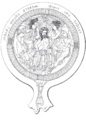 Drawing of an Etruscan Bronze Mirror showing the birth of Minrva.png
