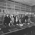Drie progressieve partijen (PvdA, D66, PPR) presenteren schaduwkabinet, het scha, Bestanddeelnr 926-0345.jpg