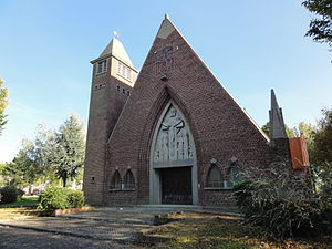 Drocourt - Église Sainte-Barbe (01).JPG