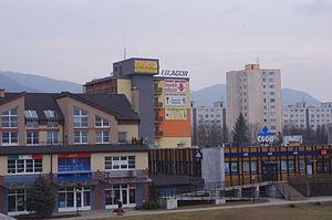 Dubnica nad Váhom - Image: Dubnica nad Váhom 20.02.2011 14 46 29