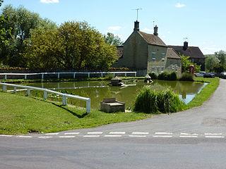 Barrowden village in the United Kingdom
