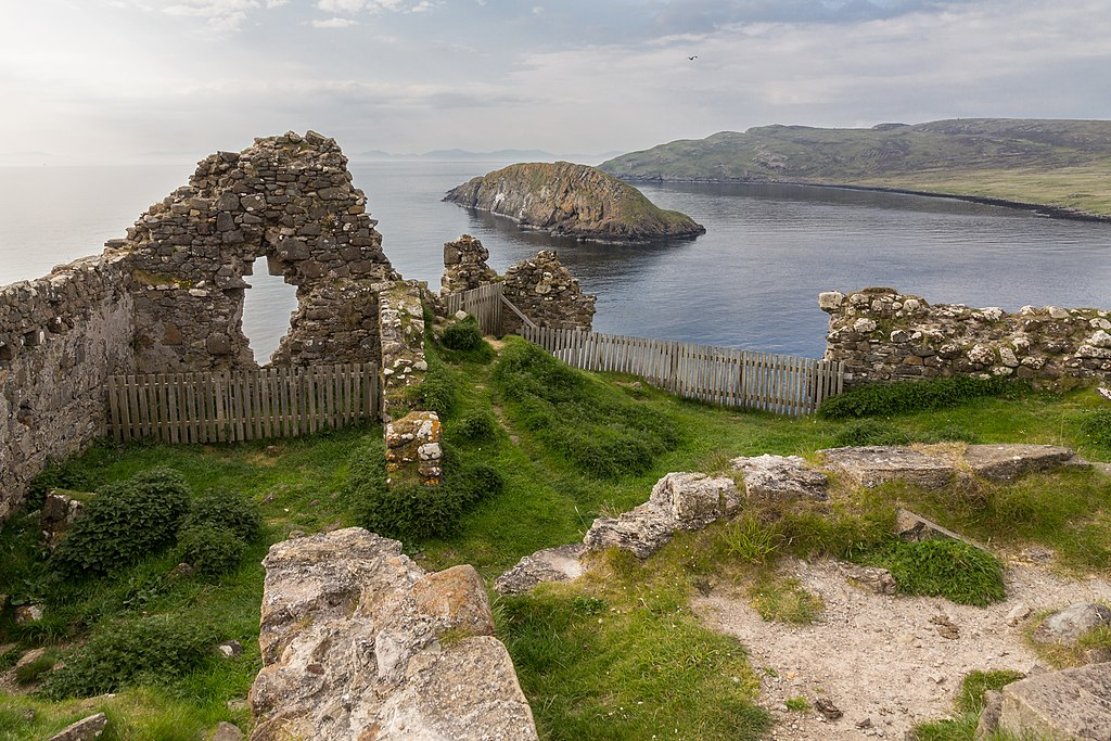 Remains of Duntulm Castle