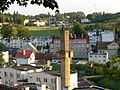 Dzierzgon town view from the castle hill 2007-09.jpg