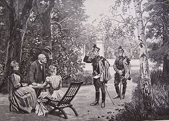 Quartermaster - Wojciech Kossak, quartering (Quartermaster), circa 1893