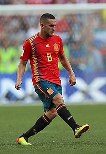 85d64957079 Koke with Spain at the 2018 World Cup