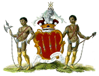 Earl Amherst - Arms of the Earls Amherst