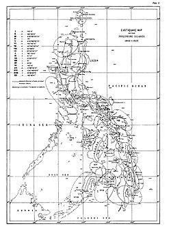 List Of Earthquakes In The Philippines Wikipedia