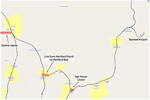 East West Rail Link - Options relating to Stansted airport link