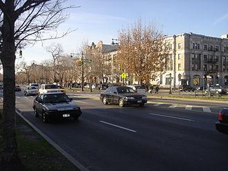 Eastern Parkway - At Kingston Avenue, Crown Heights