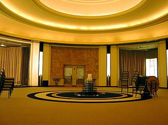 The Carlu - After restoration work was completed, the floor reopened as The Carlu event venue in 2003.