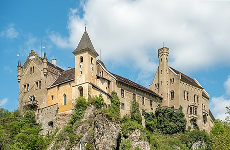 Castle Eberstein on Schlossberg