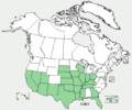Echinodorus berteroi range map.png