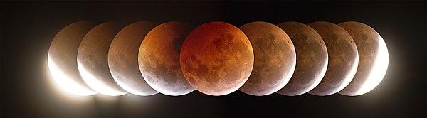 Captan por primera vez eclipse lunar desde el espacio VIDEO
