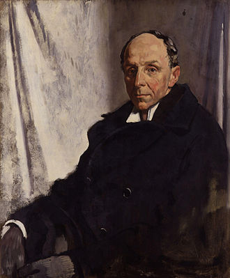 Robert Cecil, 1st Viscount Cecil of Chelwood - Lord Robert Cecil by Sir William Orpen