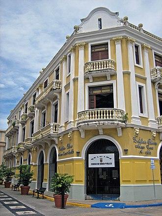 Arecibo, Puerto Rico - Edificio Oliver, listed on the U.S. National Register of Historic Places